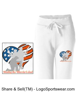 Silent War Foundation Womens SweatPants Design Zoom